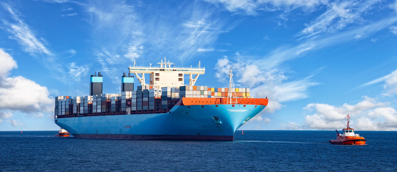Ship Blue Sky