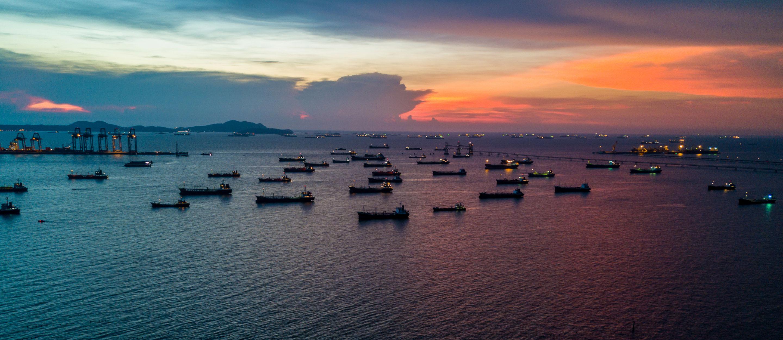 Ships Sunset